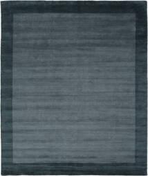 Handloom Frame - Petrol Albastru Covor 250X300 Modern Negru/Albastru Închis Mare (Lână, India)