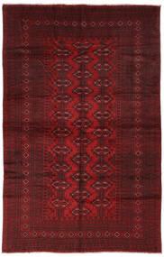 Beluch Covor 190X293 Orientale Lucrat Manual Negru/Roșu-Închis (Lână, Afganistan)