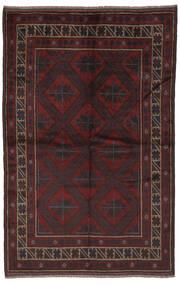 Beluch Covor 153X240 Orientale Lucrat Manual Negru (Lână, Afganistan)