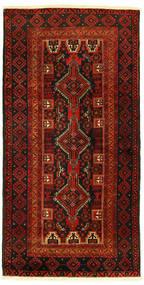 Beluch Covor 96X193 Orientale Lucrat Manual (Lână, Persia/Iran)