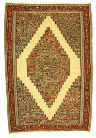 Chilim Senneh Covor 198X292 Orientale Lucrate De Mână (Lână, Persia/Iran)