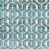 Alva - Turquoise / White